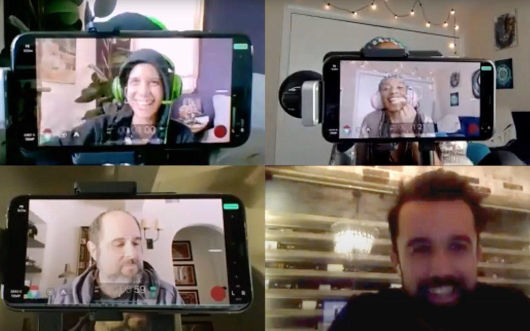 Mythic Quest Quarantine Episode iPhone Apple Filmic Pro